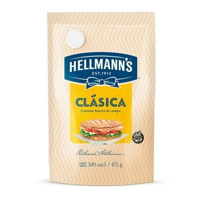 Mayonesa Hellman Doy Packx475g