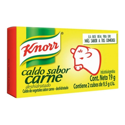 Caldo Knorr De Carne.......x2u