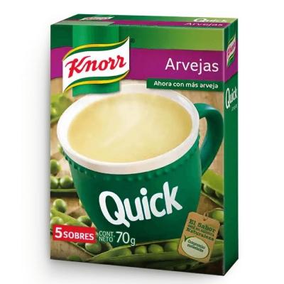 Sopa Quick Arvejas.........x5u