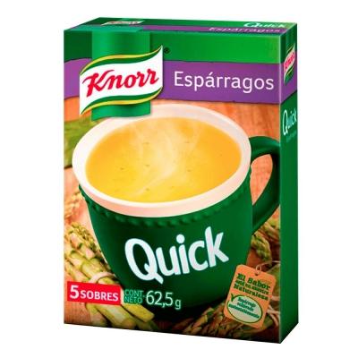 Sopa Quick Esparragos......x5u