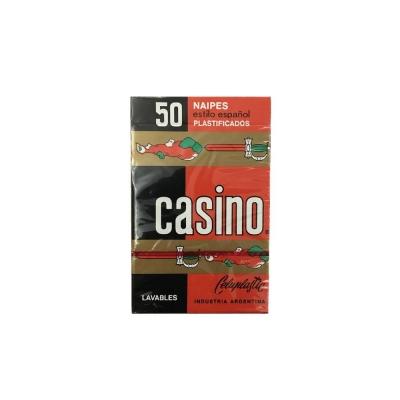Naipes Plastif.casino.....x50c
