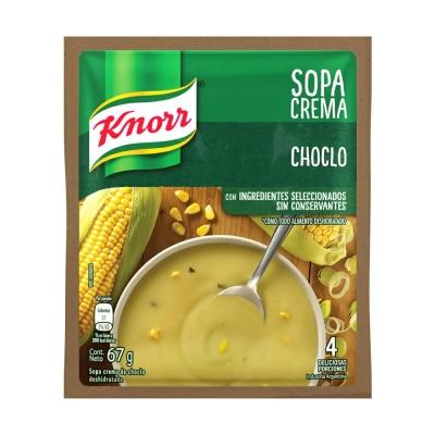 Sopa Crema Choclo.............