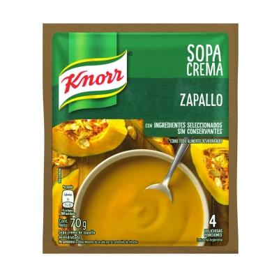 Sopa Crema Zapallo............