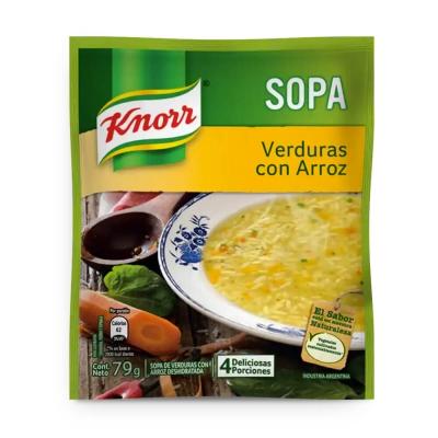Sopa Casera Verdura C/arroz...