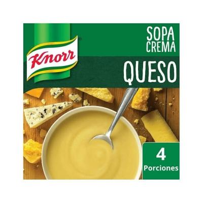 Sopa Crema Queso..............