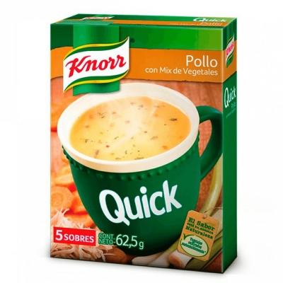 Sopa Quick Pollo...........x5u