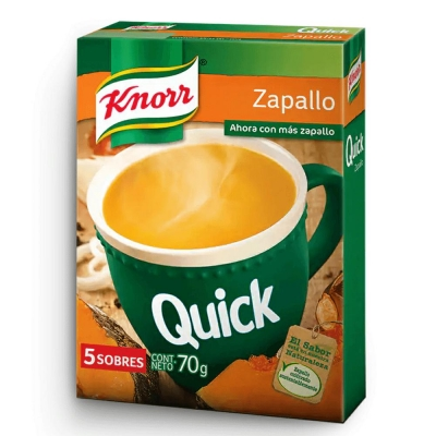 Sopa Quick Zapallo.........x5u