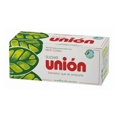 Mate Cocido Union S/sobre.x25u