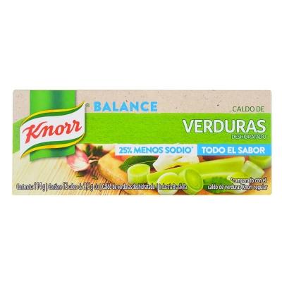Caldo Knorr Menos Sodio Vex12u
