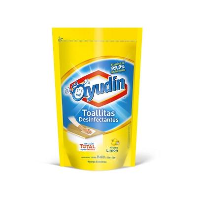 Ayudin Toall.limon Rec.ecox35p