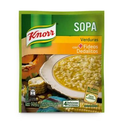 Sopa Casera Verdura C/dedalito