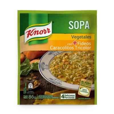 Sopa Casera Vegetales C/carac.