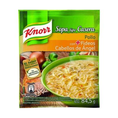 Sopa Casera Pollo C/cabe.angel