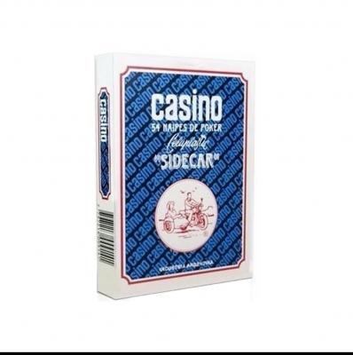 Naipe Casino Sidecar Plastx40c