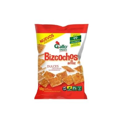 Bizcochos Gallo Dulces....x50g