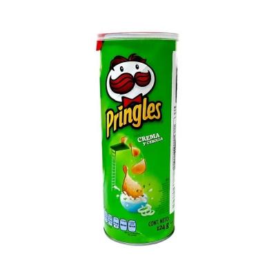 Papas Pringles Cre/cebo. X124g