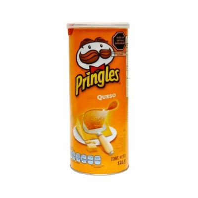 Papas Pringles Queso.....x124g