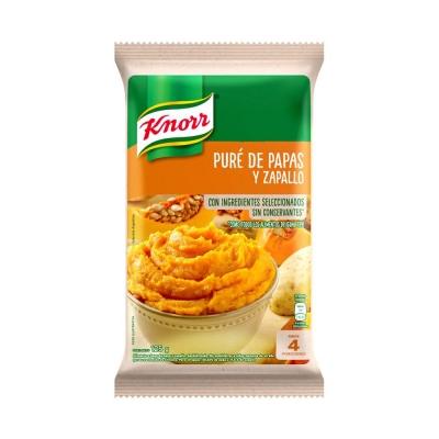 Pure Papas Zapallo Knorr X125g