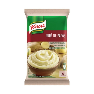 Pure Papas Completo Knor X125g