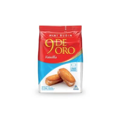 9 De Oro Minibudin Vain..x210g
