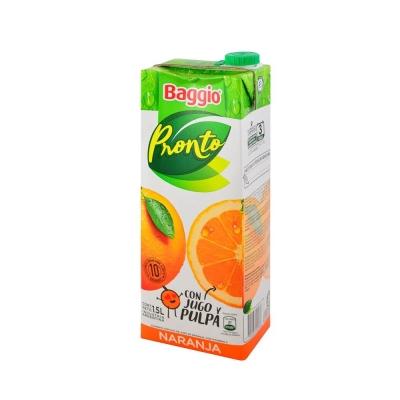 Jugo Baggio Naranja......x1.5l