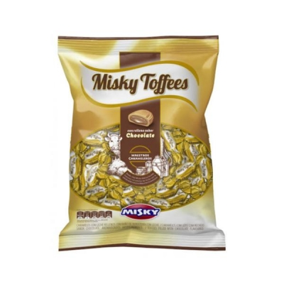 Caramelo Misky Tofees Chox648g