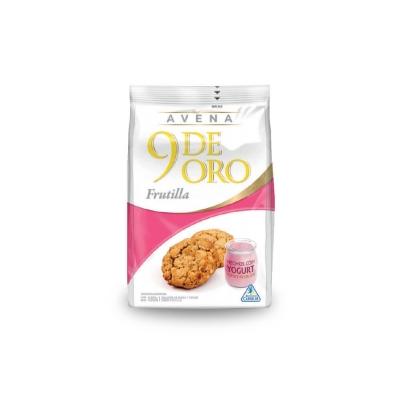 9 De Oro Avena/jogurt Frux180g