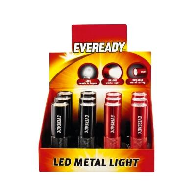 Lint.eveready Metal Led S/pila