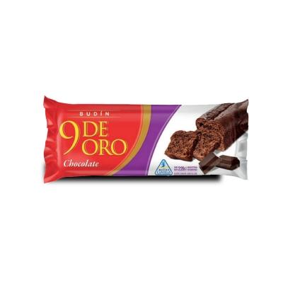 9 De Oro Budin Chocolate.x220g