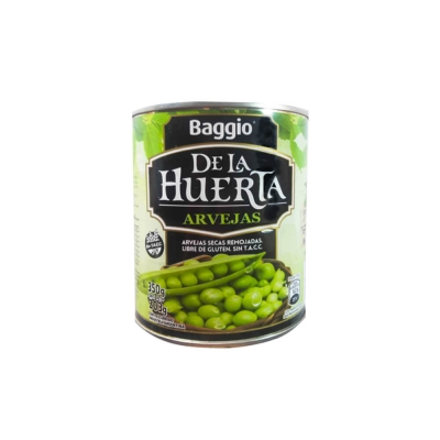 Arvejas De La Huerta Latax350g