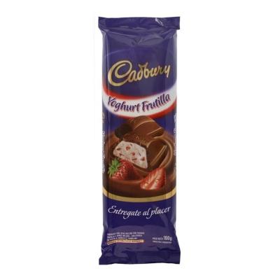 Choc.cadbury Yog. Frutillax160g