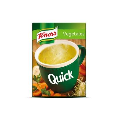 Sopa Quick Vegetales.....x5u