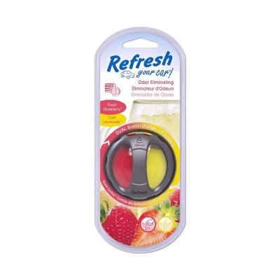 Refresh Your Car Dual Frutilla/lim Elim.olores