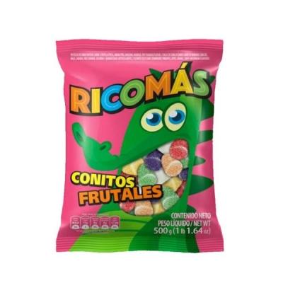 Goma Ricomas Conitos Flates.x500g