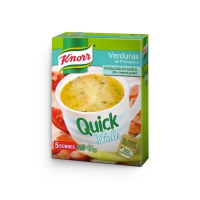 Sopa Quick Veget.bajo Sodio.x5u