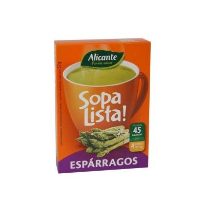 Sopa  Alicante Lista Esparrago.4ux13g