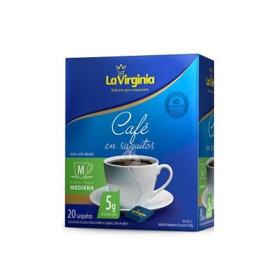 Cafe L.virginia Saquito Tor.clas.x20ux5g