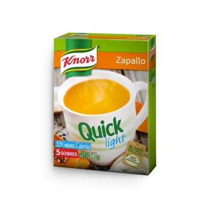 Sopa Quick Zapallo Lightx5u