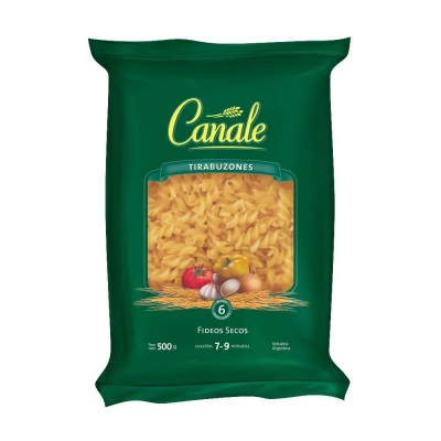 Fideos Canale Tirabuzonx500g
