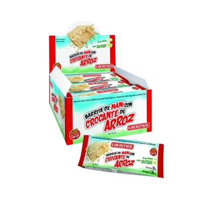 Barra Mani C/croc.arroz Lheritierx30g